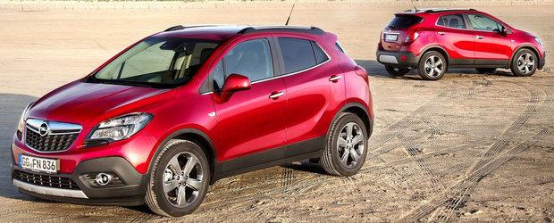 Opel Mokka ar putea fi fabricat in Spania
