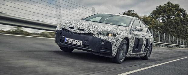 Opel ne mai indulceste asteptarea cu un nou video al urmatorului Insignia