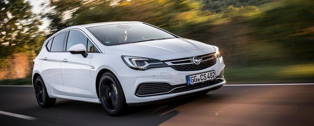 Opel pregateste un Astra OPC cu motor de 1.6 litri si 300 de cai putere