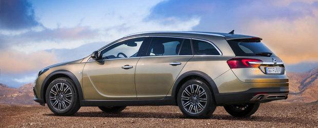 Opel prezinta in actiune si detaliu noile Insignia si Insignia Country Tourer