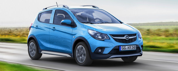 Opel scoate la vanzare crossover-ul Karl Rocks la un pret imbatabil