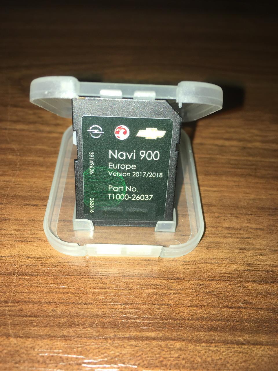 OPEL SD Card Navigatie Navi 600 Navi 900 Harti originale 2017 2018