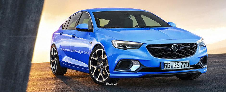 Opel va da lovitura cu asta. Uite cum ar putea arata noul Insignia OPC