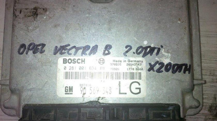 Opel vectra b 2.0dti x20dth 90569348LG BOSCH 0281001634