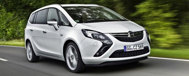 Opel Zafira Tourer ecoFLEX: un 'lounge' pe roti ce emite doar 119 g de CO2/km