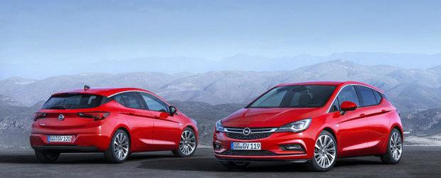 Opelul Astra K s-a dovedit a fi un pariu castigator. Nemtii sunt uluiti de comenzile primite pentru Masina Anului 2016