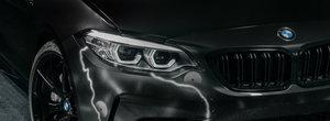 """Opera de arta pe roti. Un graffer legendar a """"pictat"""" trei BMW-uri M2 Competition"""