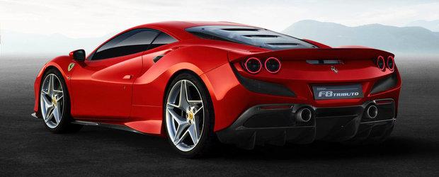 Opreste-te din ceea ce faci! Asta este noul F8 Tributo, un supercar cu cel mai puternic V8 din istoria Ferrari sub capota