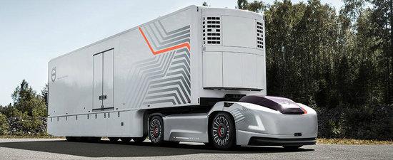 Opreste-te din tot ce faci si admira noua creatie Volvo. Este un cap tractor autonom, FARA CABINA