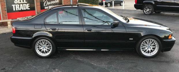 Opreste-te din tot ce faci. Trebuie sa vezi acest BMW 530i din 2002 cu nici 20.000 de km la bord