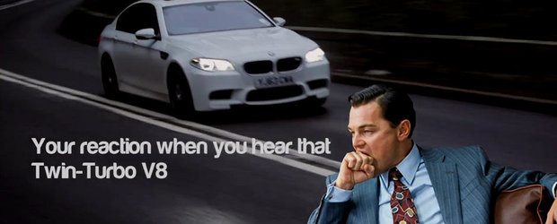Opt motive pentru a-ti cumpara un BMW M5 F10