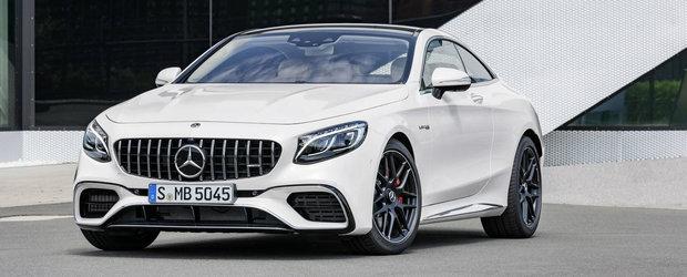 Opulenta are de astazi un nume nou: Mercedes-Benz S-Class Coupe si Cabrio facelift