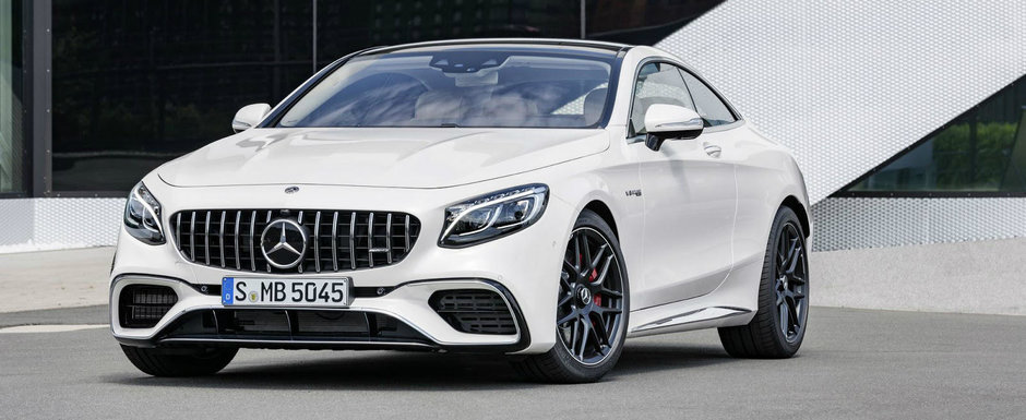 Opulenta are de astazi un nume nou: Mercedes-Benz S-Class Coupe si Cabrio facelift