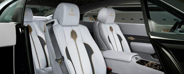 Opulenta maxima: De la Mansory vine Rolls-ul placat cu aur de 24 karate