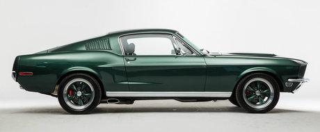 Oricine si l-ar dori in parcare. Cu cat se vinde acest superb Mustang de 6.6 litri