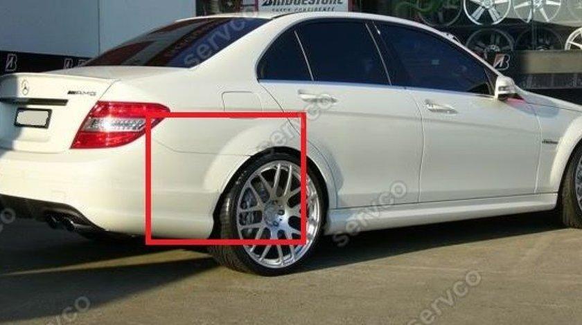 Ornament aripa Mercedes W204 C Class AMG tuning sport 2007-2014 v1