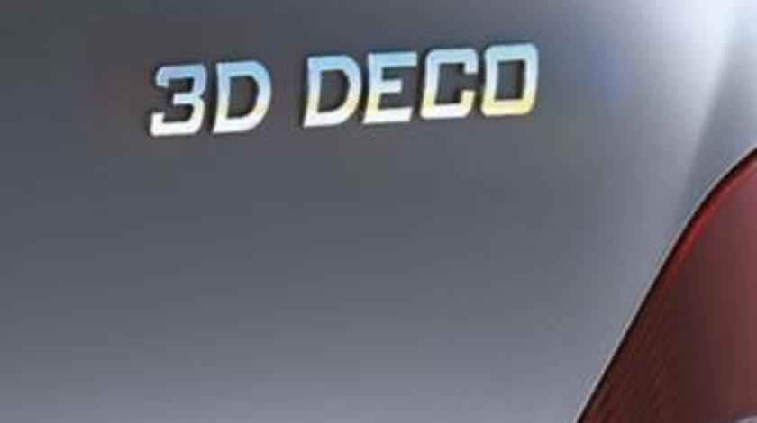 Ornament auto, Logo 3D caracter 8