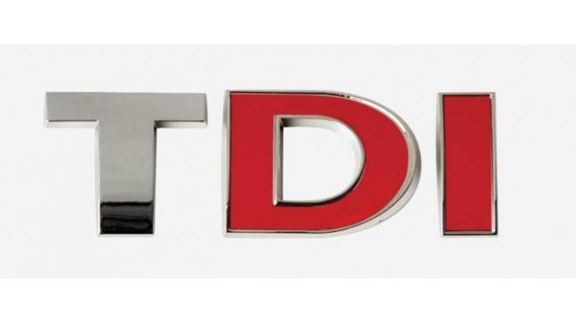 Ornament auto, Logo 3D Tdi crom 28X80 mm
