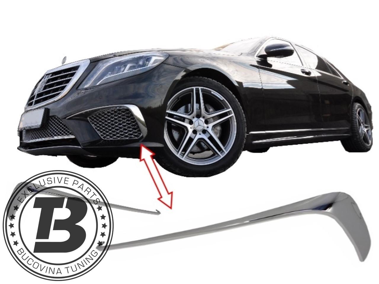 Ornament Bumerang Crom Bara Fata MERCEDES S-Class W222 (2013+) S65 Design