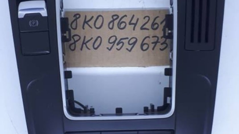 Ornament consola / grila schimbator viteze 8K0864261 / 8K0959673 Audi A4 B8 8K 2008-2015