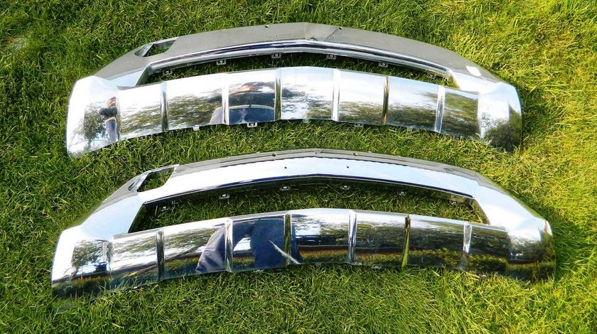 Ornament crom bara fata Mercedes ML W166 AMG model  2012-2014 cod A1668806240