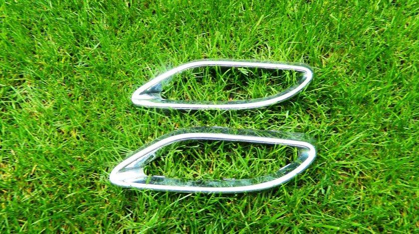 Ornament crom dreapta bara spate Mercedes C-Class W205 cod A2058852221