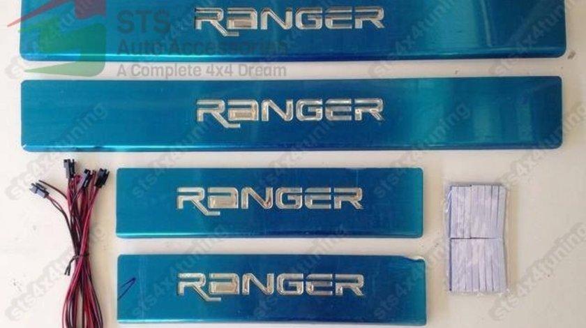 ORNAMENT PRAG CU LED FORD RANGER T6 T7 T8 2012-2020 [V1] [4-BUC]