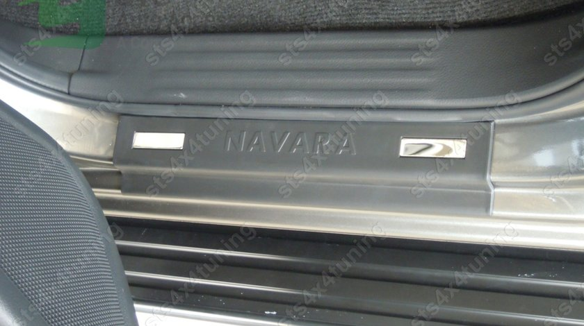 ORNAMENT PRAG NEGRE NISSAN NAVARA NP300 2015-2017 [4-BUC]