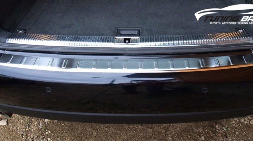 Ornament protectie bara spate din inox pentru AUDI A4 B8/8K AVANT din 2007 -