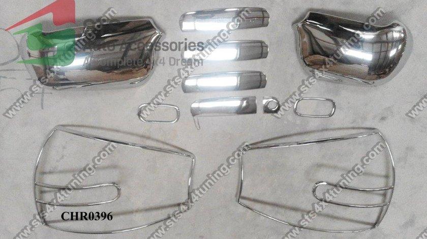 ORNAMENT SET EXTERIOR CROMATE AUDI A6 C5 1997-2004 [11-BUC]