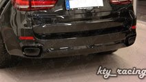 ORNAMENT TOBA BMW X5 F15 2014+ TIPS ESAPAMENT CHRO...