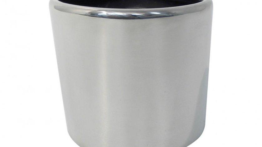 Ornament toba Carpoint, inox, model oval 45-60/85x120/150mm
