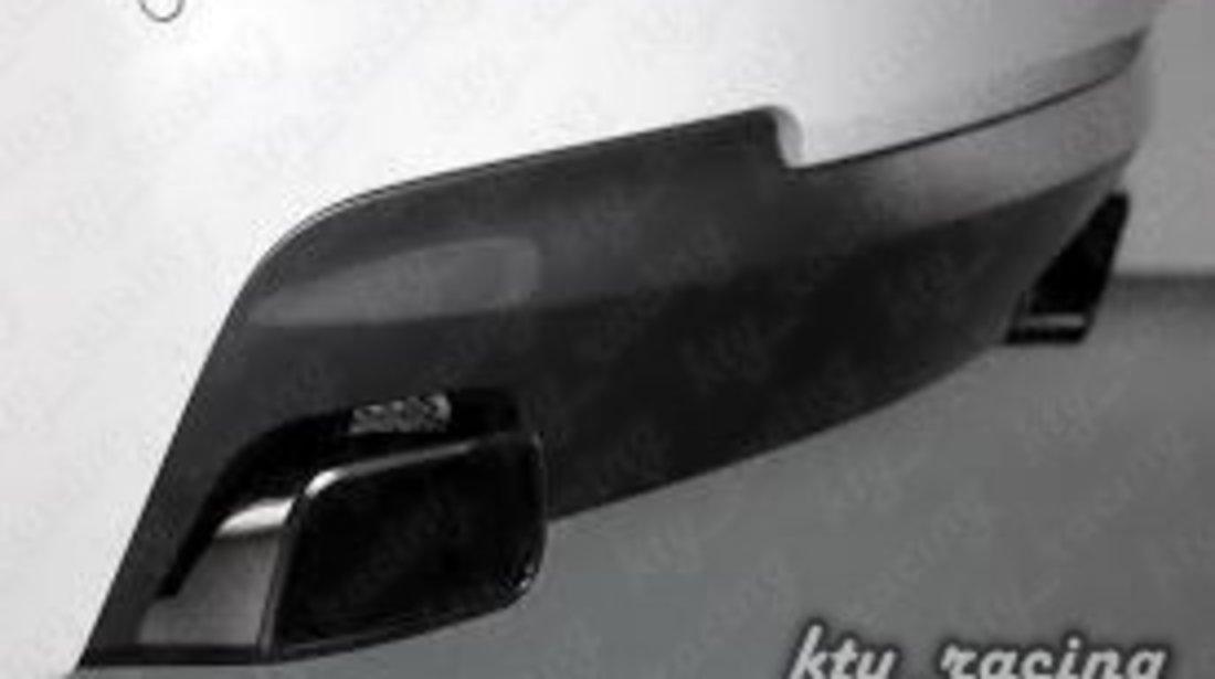 ORNAMENT TOBA F10 RETROFIT 550d Evacuare Tobe tips BMW Seria 5 F10 F11 Chrome Silver si Chrome Black