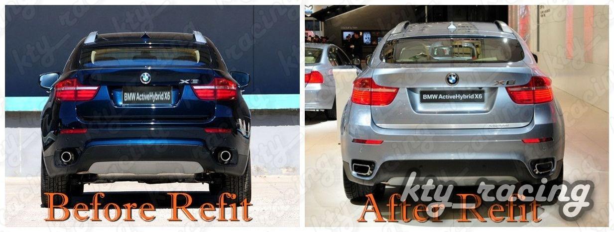 ORNAMENT TOBA FINALA BMW X6 E71 2008-2014 V8 DESIGN