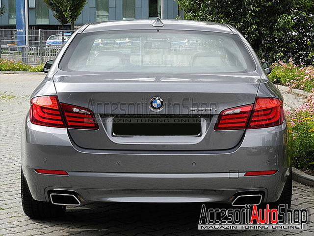 Ornament toba tips BMW Seria 5 F10 F11 2010+ Chrome