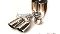 Ornament Toba Tips Dublu INOX 2x76mm