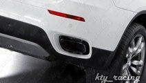 ORNAMENT TOBA X6 BMW X6 E71 2008-2014 TIPS CHROM B...