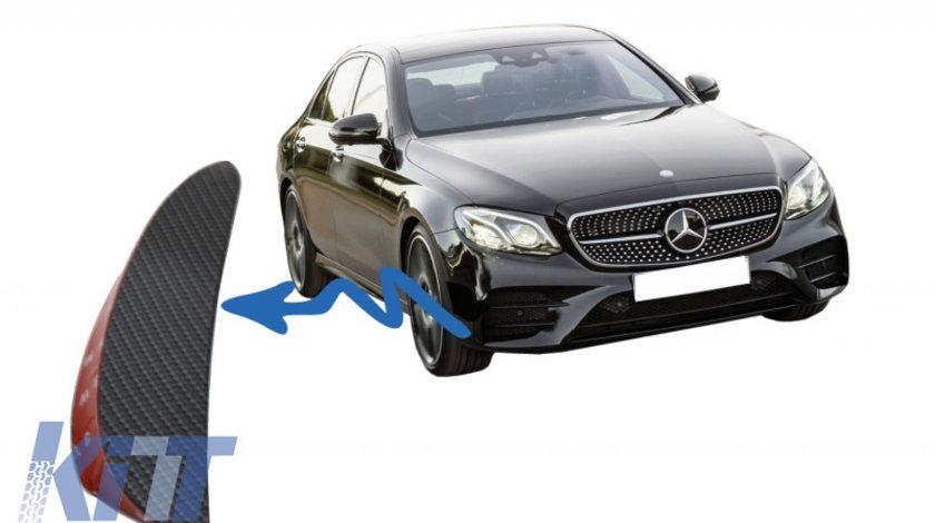 Ornamente bara fata flapsuri Mercedes W213 S213 C238 A238 E43 E53 Design Carbon Film KTX2-FFOCF