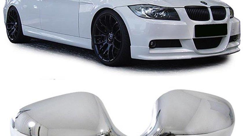 ORNAMENTE/CAPACE OGLINZI CROMATE BMW E90/E91 facelift