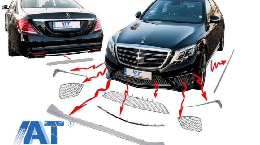 Ornamente cromate compatibil cu MERCEDES Benz W222 S-Class (2013-up)