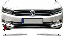 Ornamente Proiectoare Crom Metal Volkswagen Passat...