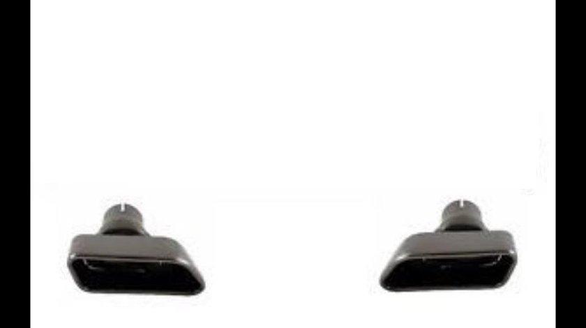 Ornamente tobe Tips evacuare sport BMW F10 F11 F12 F13 seria5-6 chrome black 550d 650d