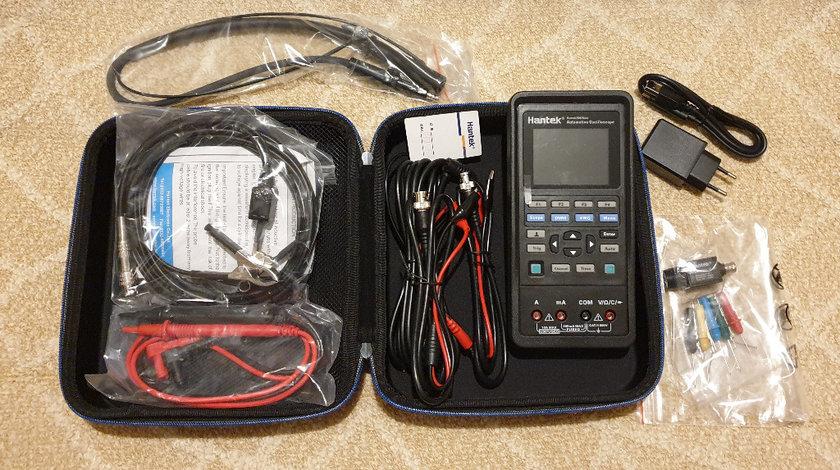 Osciloscop Auto Hantek 2D82 I auto 4in1 -2 canale, Diagnoza +Waveform Generator