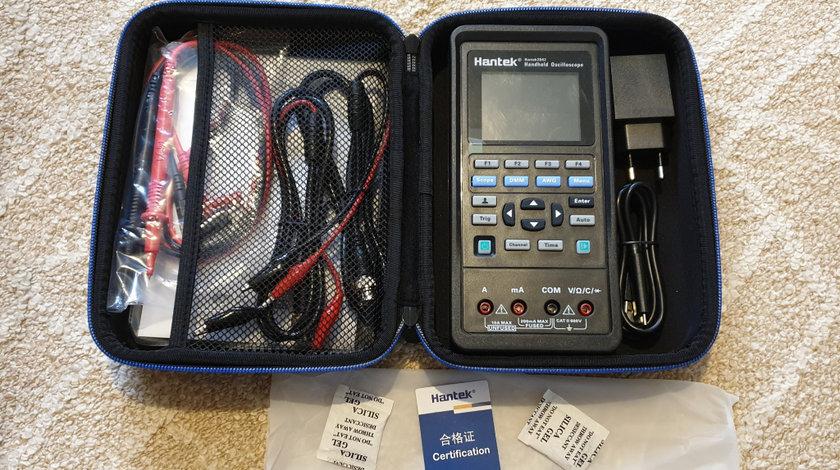 Osciloscop portabil Hantek 2D42 2 canale - aparat de masura, generator de semnal