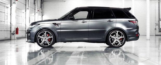 Overfinch cauta 100 de insi carora sa le modifice Range Rover-ul Sport
