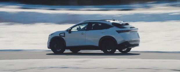 OZN, frate! Cea mai noua masina de la Nissan arata ca o farfurie zburatoare! VIDEO ca sa te convingi si singur
