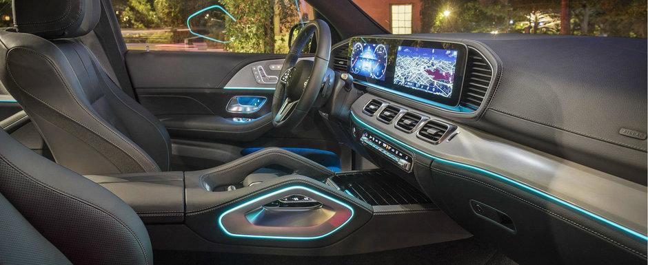 OZN, frate! Noua masina de la Mercedes are un interior care te lasa cu gura cascata