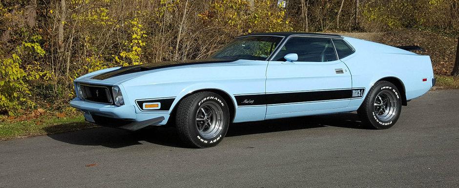 Pacat ca este modelul gresit. Acest Mustang Mach 1 se vinde pentru o nimica toata