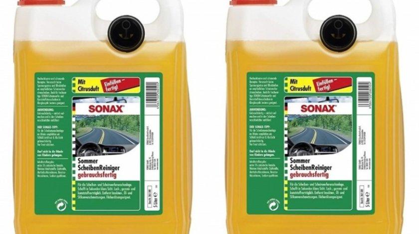 Pachet 2 Buc Sonax Solutie Parbriz Vara Anti-Insecte Lamaie 260500 5L
