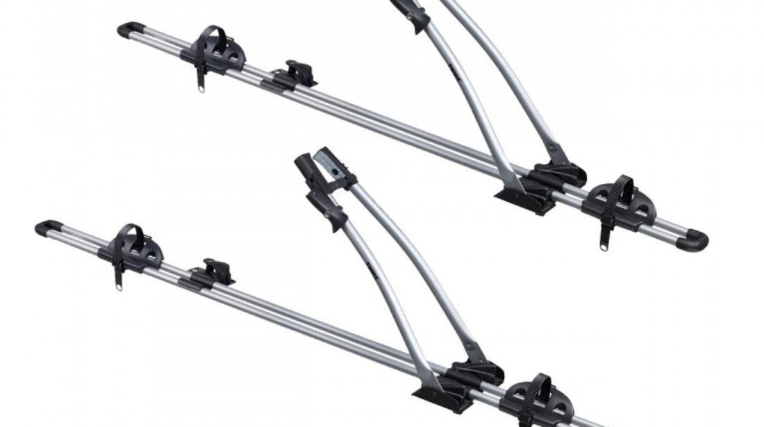 Pachet 2 buc suporturi biciclete cu prindere pe bare transversale Thule FreeRide 532